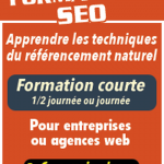 Booster votre visibilité Formation bases seo / yoast seo add google analytics code Formation SEO Haut Niveau